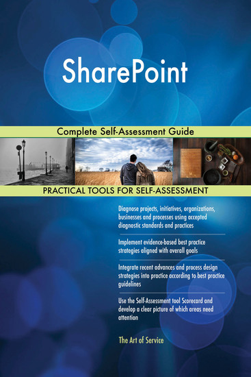 SharePoint Complete Self-Assessment Guide - cover