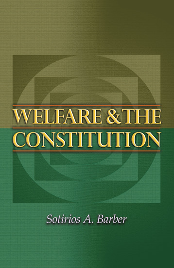 Welfare and the Constitution - cover