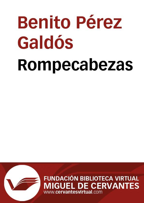Rompecabezas - cover