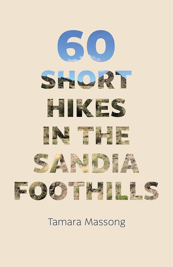 60 Short Hikes in the Sandia Foothills - cover