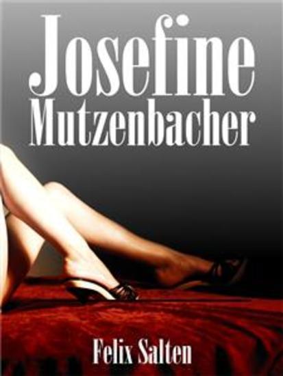 Josefine Mutzenbacher - cover