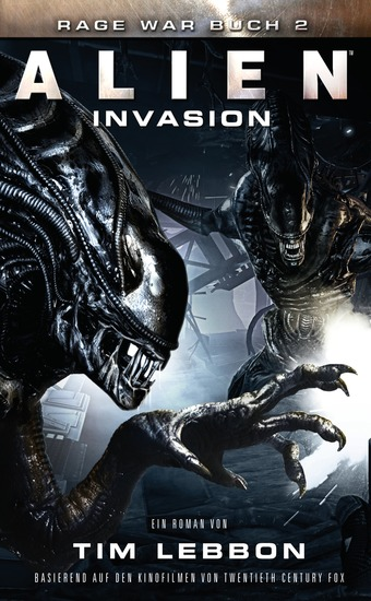 ALIEN: INVASION - SciFi-Thriller - cover