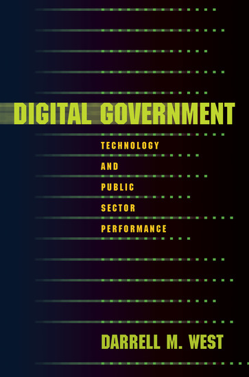 Digital Government - Technology and Public Sector Performance - cover