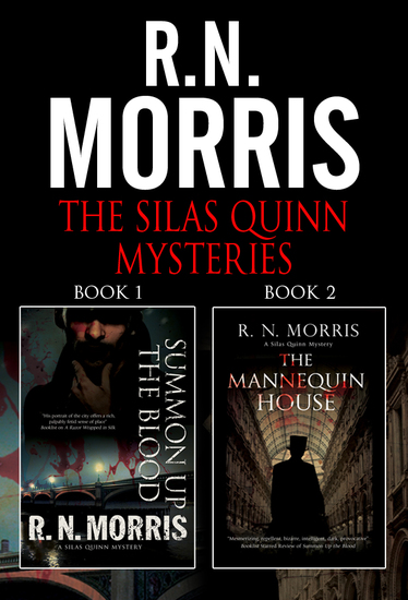The Silas Quinn Mysteries Omnibus - Books 1 and 2 - cover