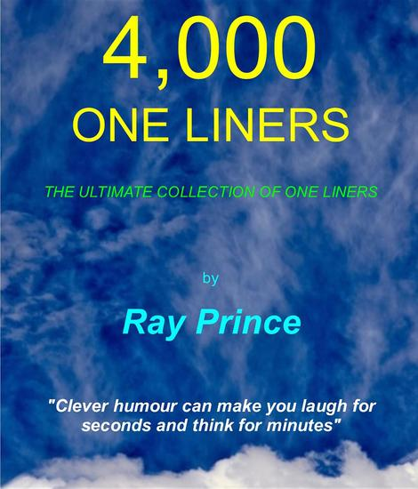 4000 One Liners - The Ultimate Collection of One Liners - cover