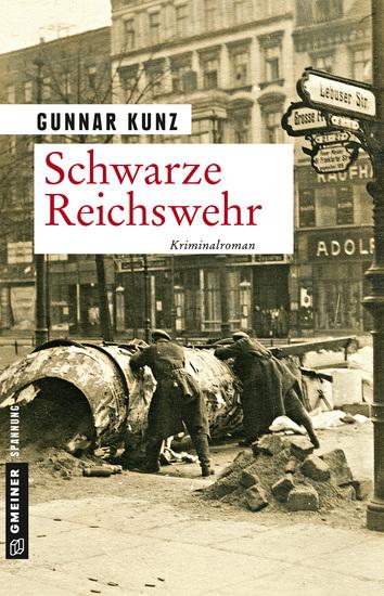 Schwarze Reichswehr - Kriminalroman - cover