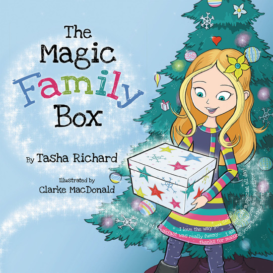 The Magic Family Box - A Crafty Holiday Tradition Full of Love - cover