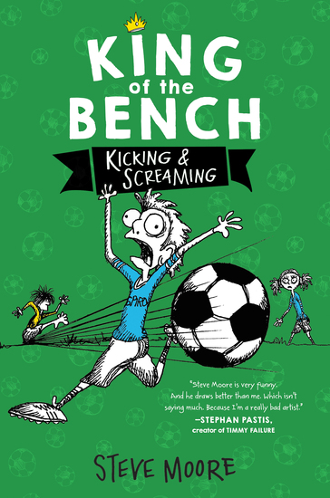 King of the Bench: Kicking & Screaming - cover