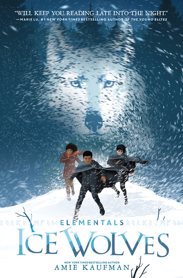Elementals: Ice Wolves - cover