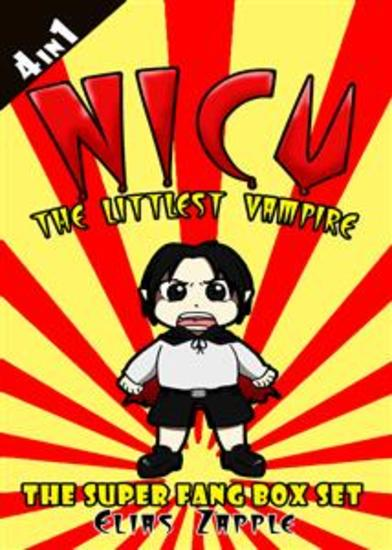 Nicu - The Littlest Vampire - The Super Fang Collection American-English Edition - cover