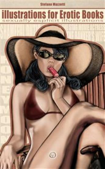 Illustrations for Erotic Books - sexually esplicit illustrations - cover