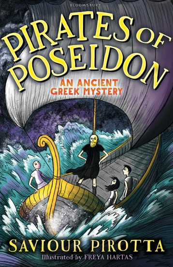 Pirates of Poseidon: An Ancient Greek Mystery - cover