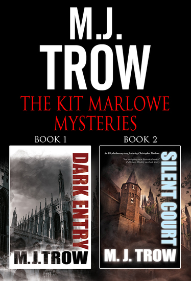 The Kit Marlowe Mysteries Omnibus - Books 1 and 2 - cover