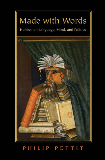 Made with Words - Hobbes on Language Mind and Politics - cover