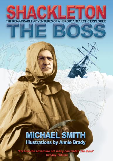 Shackleton - The Boss - cover