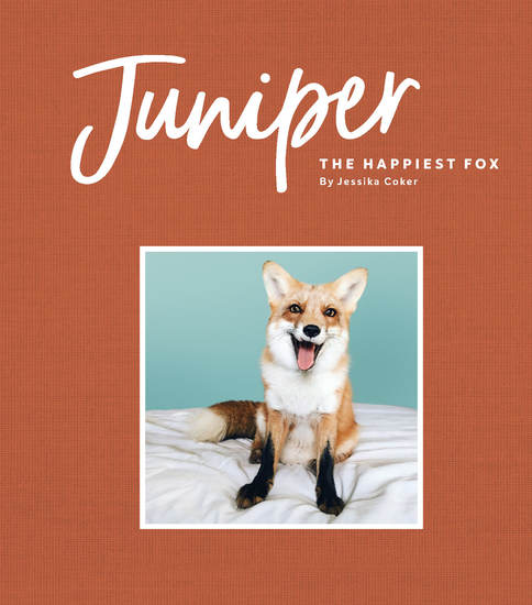 Juniper: The Happiest Fox - cover