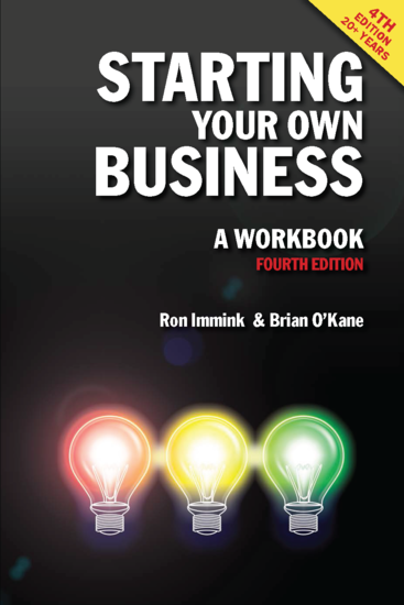Starting Your Own Business: A Workbook 4th edition - cover