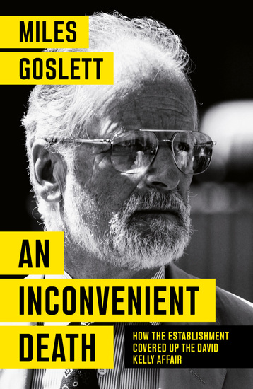 An Inconvenient Death - How the Establishment Covered Up the David Kelly Affair - cover