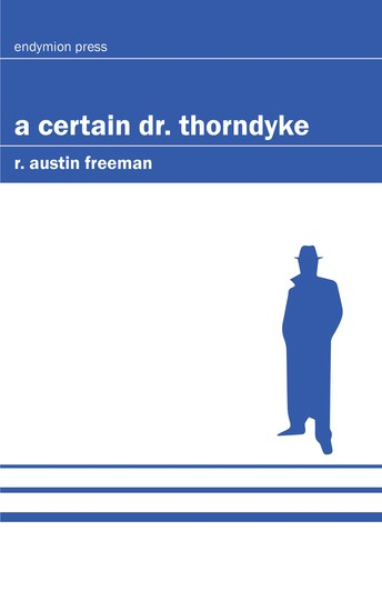 A Certain Dr Thorndyke - cover