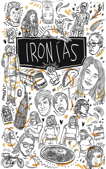 Ironías - cover