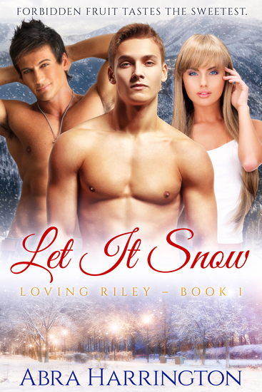 Let It Snow - A Christmas MMF Romance - cover