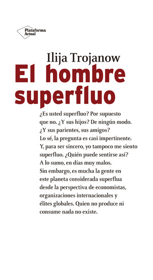El hombre superfluo - cover