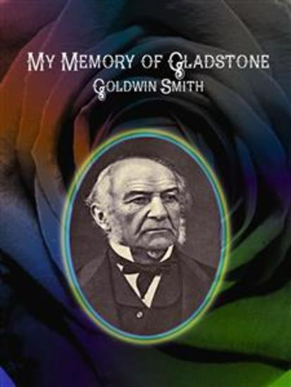My Memory of Gladstone - cover