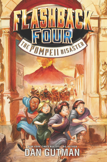 Flashback Four #3: The Pompeii Disaster - cover