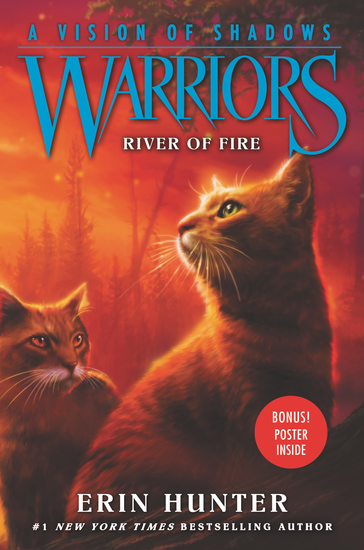 Warriors: A Vision of Shadows #5: River of Fire - cover