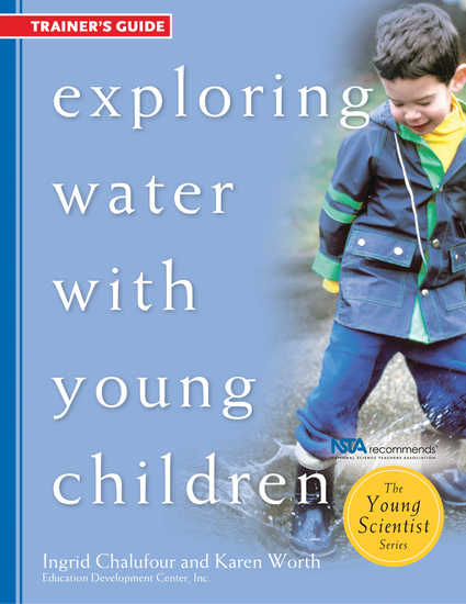 Exploring Water with Young Children Trainer's Guide - cover