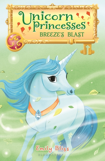 Unicorn Princesses 5: Breeze's Blast - cover