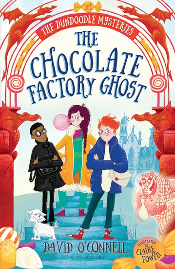 The Chocolate Factory Ghost - cover