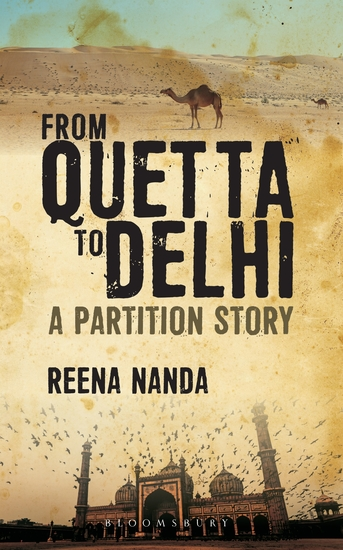 From Quetta to Delhi: A Partition Story - cover