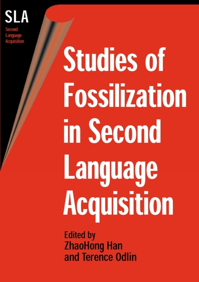 Studies of Fossilization in Second Language Acquisition - cover