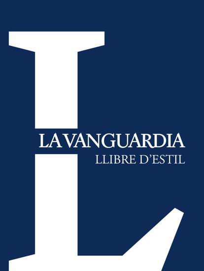Llibre d'estil 'La Vanguardia' - cover
