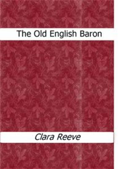 The Old English Baron - cover