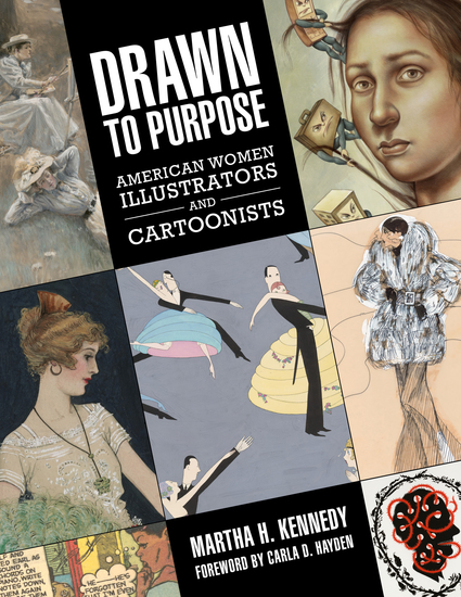 Drawn to Purpose - American Women Illustrators and Cartoonists - cover