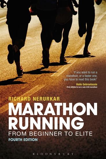 Marathon Running - From Beginner to Elite 4th edition - cover