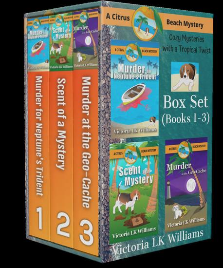 Citrus Beach Mystery: Box Set: Books 123 - Citrus Beach Mysteries - cover