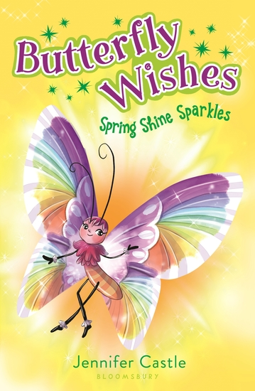 Butterfly Wishes 4: Spring Shine Sparkles - cover