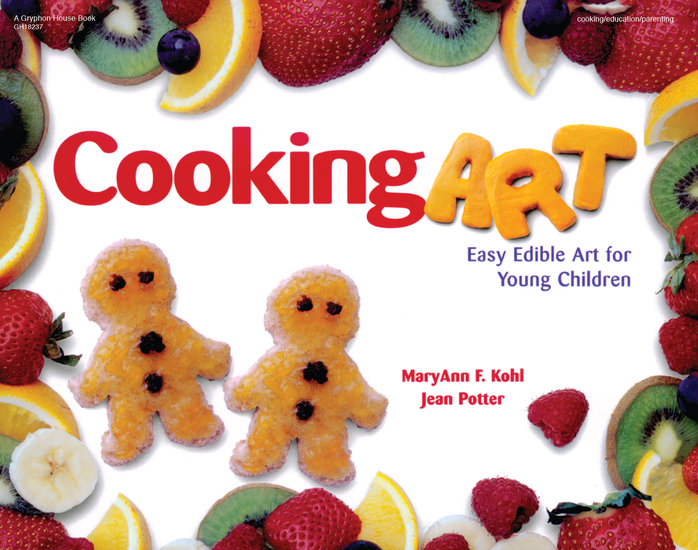 Cooking Art - Easy Edible Art for Young Children - cover