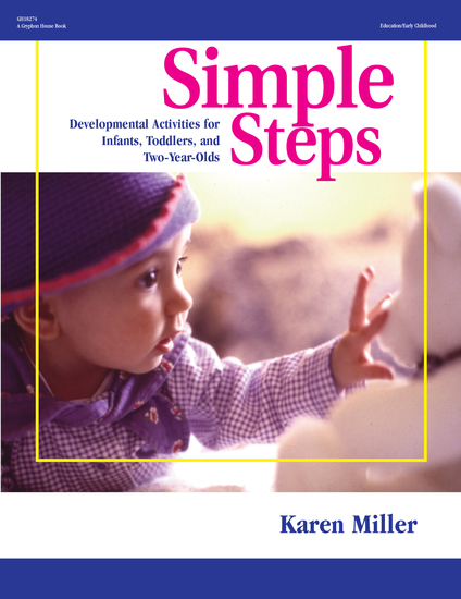 Simple Steps - Developmental Activities for Infants Toddlers and Two-Year-Olds - cover
