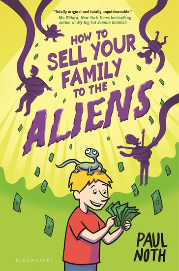 How to Sell Your Family to the Aliens - cover