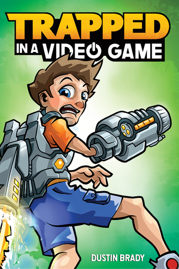 Trapped in a Video Game (Book 1) - cover
