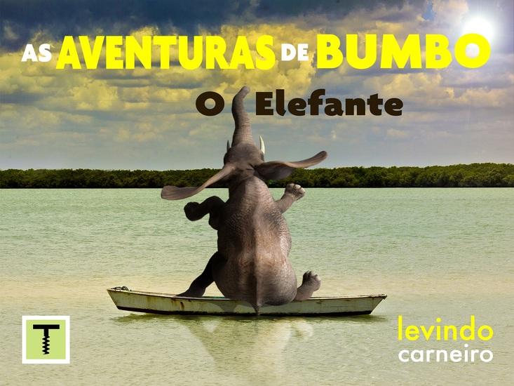 As Aventuras de Bumbo - o elefante - cover