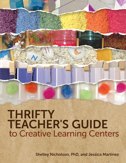 Thrifty Teacher's Guide to Creative Learning Centers - cover