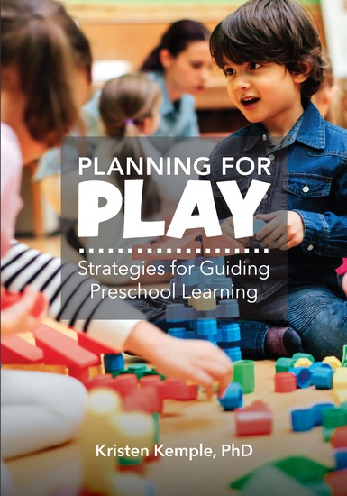 Planning for Play - Strategies for Guiding Preschool Learning - cover