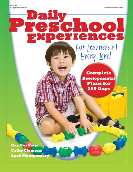 Daily Preschool Experiences - For Learners at Every Level - cover