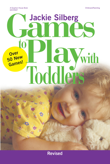 Games to Play with Toddlers Revised - cover
