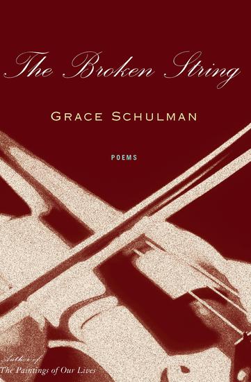 The Broken String - Poems - cover